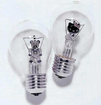 另类设计:极品灯泡幽你一默